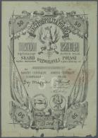 Poland / Polen: Poland National Liberation Committee - London, Notgeld 1848-1849, 50 Zlotych, Interesting Item, Stronger - Poland