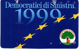 TESSERA D.S.1999 (DEMOCRATICI SINISTRA) - Documentos Históricos
