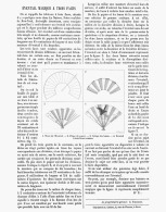 EVENTAIL MAGIQUE à TROIS FACES   1885 - Autres Collections