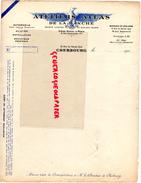 50 - CHERBOURG- FACTURE ATELIERS ATLAS DE LA MANCHE- AUTOMOBILE AVIATION-MOTOCYLTURE-10 RUE ANCIEN QUAI- 1920  AIGLE - Cars