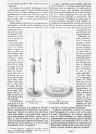 UN NOUVELLE HYGROMETRE à CONDENSATION  1885 - Sciences & Technique