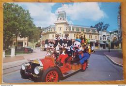 DISNEYLAND - MICKEY, MINNIE AND FRIENDS TAKE A SWING AROUND TOWN SQUARE IN THE DISNEYLAND FIRE DEPT - Disneyland