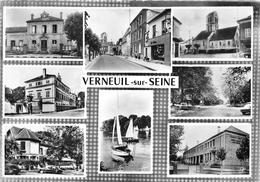 78-VERNEUIL-SUR-SEINE- MULTIVUES - Verneuil Sur Seine