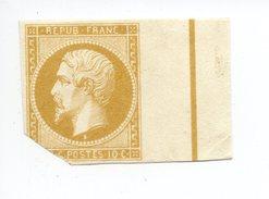 YT 9 - Napoléon - Variété Réimpression Ou Faux ? - NEUF Sans Gomme - Ligne D'encadrement - TRÈS BEAU ! - 1852 Louis-Napoleon