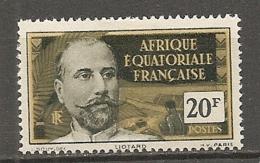 AEF -  Yv. N°  62  *  20f  Cote  4,9 Euro BE 2 Scans - A.E.F. (1936-1958)
