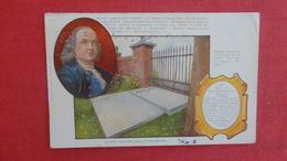 Benjamin Franklin's Grave Philadelphia    Ref 2579 - History