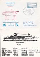M/S Astor Starting Cruising From Howaldtswerke P/m Kiel 1 1987 (T15-22) - Schiffe