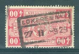 """BELGIE - OBP Nr TR 156 - Cachet   """"LOKEREN Nr 1"""" - (ref. 12.516) - Chemins De Fer"""