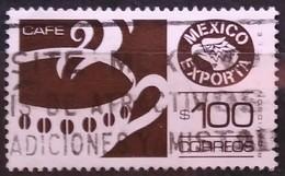 MÉXICO 1987-1988 México Exporta. USADO - USED - Mexique