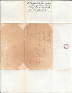 CLAPPVILLE MASS. A BOSTON 1849 PRECURSEUR UNITED STATES OF AMERICA - 1845-47 Emissions Provisionnelles