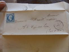 Lot Du 15.05.17_LAC E Londiniere (74),PC1751; N°14 Laiteux BDF,variétés - 1849-1876: Période Classique