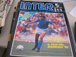 RIVISTA  INTER  AGOSTO 1986 - Sport