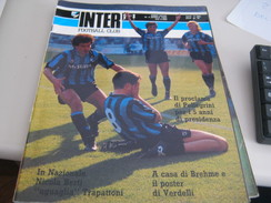 RIVISTA  INTER  FOOTBALL CLUB 4 APRILE 1989 - Sport