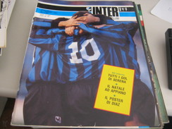 RIVISTA  INTER  FOOTBALL CLUB GENNAIO 1989 - Sport