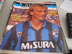 RIVISTA  INTER  FOOTBALL CLUB  MARZO 1989 - Sport