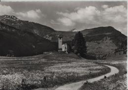 Lantsch/Lenz Marienkirche Gegen Piz Beverin - Photo: Otto Furter No. 11-288 - GR Grisons