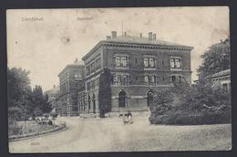 LANDSHUT BAHNHOF GARE STATION  BAYERN Nach SAARGEMÜND LOTHRINGEN 1916 FELDPOST ED R + R DRESDEN - Landshut