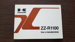 1) Kawasaki ZZR 1100 1997 Manuale Uso Originale - Genuine Owner's Manual - Bedienungsanleitung - Moto