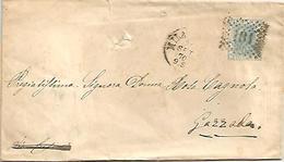 Colombo Gaetano, Pellicciaio, Circolare Nuovo Negozio In Montenapoleone, Milano, 24.9.1870, Numerale 181 Su Sassone L26. - Italia