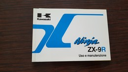 1) Kawasaki ZX 9R Ninja 1997 Manuale Uso Originale - Genuine Owner's Manual - Bedienungsanleitung - Moto