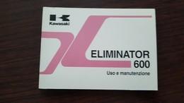 1) Kawasaki Eliminator 600 Manuale Uso Originale - Genuine Owner's Manual - Bedienungsanleitung - Moto