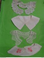 Lot De Faux Col  Au Crochet -brode -pique - Vintage Clothes & Linen