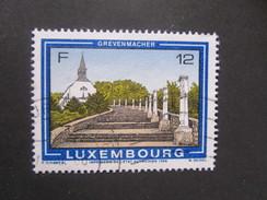 Luxembourg. 1986. Yvert N° 1111 Ob. Tourisme. Ville De Grevenmacher. Montée Vers La Chapelle De La Croix.