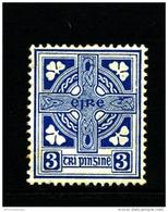 IRELAND/EIRE - 1923  3d.  CROSS  SE WMK  MINT  SG 76 - 1922-37 Stato Libero D'Irlanda