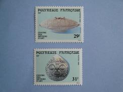 1989 Polynésie Française Yvert  324/5 **  Métiers D' Art   Scott 503/4  Michel 523/4  SG 553/4 - Neufs