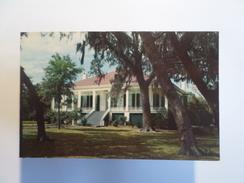 1960 YEARS USA MISSISSIPPI BILOXI BEAUVOIR JEFFERSON DAVIS SHRINE POSTCARD - Autres