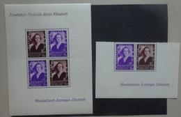 BELGIE  1937    Blok  7   Scharnier *  +  457 A - 457 B  Postfris **   CW 62,50