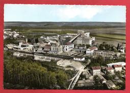 54. Tucquegnieux.  Vue Aérienne. La Mine.  1985 - France