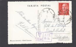 CARTE POSTALE TAXEE A 0,20 FR. OR. - 1931-Heute: 2. Rep. - ... Juan Carlos I