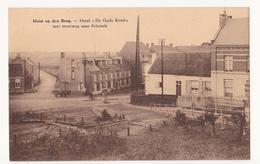 """Heist Op Den Berg: Hotel """"De Oude Ketel"""" Met Steenweg Naar Schriek. - Heist-op-den-Berg"""