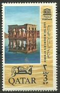 Qatar - 1965 UNESCO Monuments 3p MH    Sc  49 - Qatar