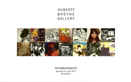 """CATALOGUE De Vente Aux Enchères """"PANORAMIQUES"""" - Huberty Breyne Gallery (Inédits ? De Schuiten, Juillard, Loustal, Etc.) - Livres, BD, Revues"""