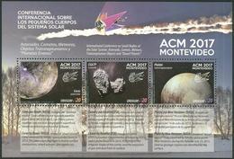 Uruguay 2017 ** Conferencia ACM. Pequeños Cuerpos Del Sistema Solar. Espacio. See Desc.