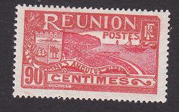 Reunion, Scott #90, Mint Hinged, Scenes Of Reunion, Issued 1922 - Reunion Island (1852-1975)