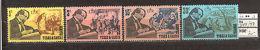 JAN X92 Turks And Caicos Isl 1970 MNH 4v Charles Dickens Writer