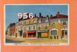 CPA * * GRANDPRE * * Un Coin De La Place Et L'Entrée De La Rue Montflix - Other Municipalities