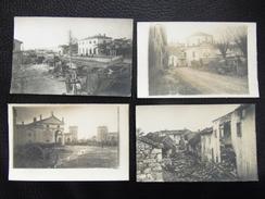 Italy Other 35 Photo Militare 1917 4 Pezzi Stazione Station - Italia