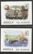 1996 Angola  Slavery  Complete Set Of 4 MNH - Angola