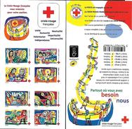 France 2017 - Yv N° BC1422 ** - Croix-Rouge  (timbres Adhésifs 1422 à 1429)  (Mi N° 6737 à 6744 MH) - Booklets