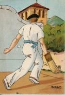 Barré Dayez Au Pays Basque Joueur De Pelote Basque N°1394 C - Altre Illustrazioni