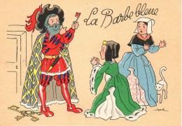Barré Dayez La Barbe Bleu N°1489 G - Autres Illustrateurs