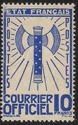 France - Timbre De Service - N° 13 Neuf Sans Charnière.