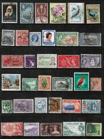 BRITISH COMMONWEALTH---Collection Of USED DL-349 - Collections (without Album)