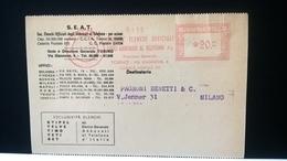 ITALIA AFFRANCATURA MECCANICA ROSSA - EMA - 1959 TORINO - S.E.A.T. ELENCHI UFFICIALI ABBONATI TELEFONO - Affrancature Meccaniche Rosse (EMA)