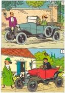 Tintin 12 Images De Voitures - Books, Magazines, Comics