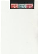 SARRE - POSTE AERIENNE N° 9 A 11  NEUF XX - ANNEE 1948     COTE : 53 € - Poste Aérienne